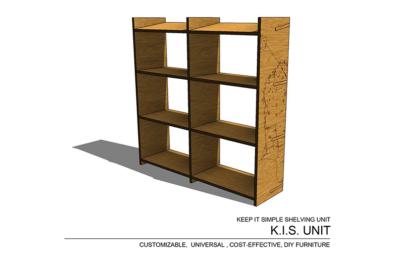 K.I.S. Shelving Unit