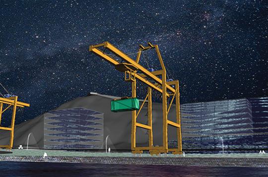 6 Crane Night barensfeld
